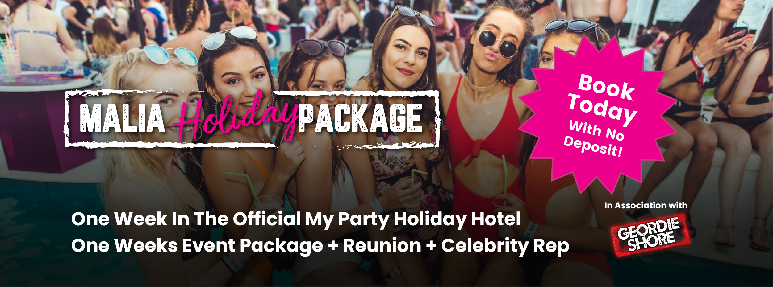 Magaluf Events Banner