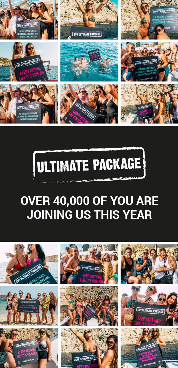 Ultimate Package over 40,000 of you are joining this year